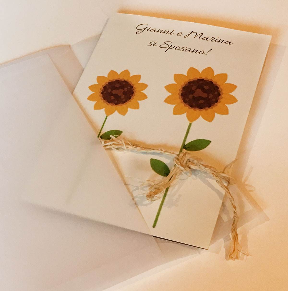 Partecipazioni Matrimonio Con Girasoli : Girasoli fm wedding day
