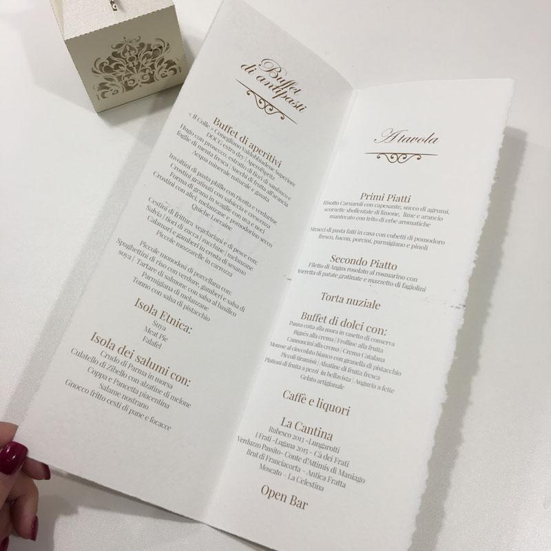 Menù Carta Amalfi